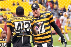 No Super Bowl for Steelers reason 51: bumblebee uniforms. Gene Collier says the football gods haven't forgiven the team for this contribution to the Pittsburgh fashion scene.