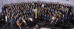 The Oscars Class of 2017 photo, taken at the annual luncheon on Feb. 6. Nominees for the 89th Oscars were celebrated at a luncheon held at the Beverly Hilton, Feb. 6. The ceremony airs live Feb. 26 on ABC.