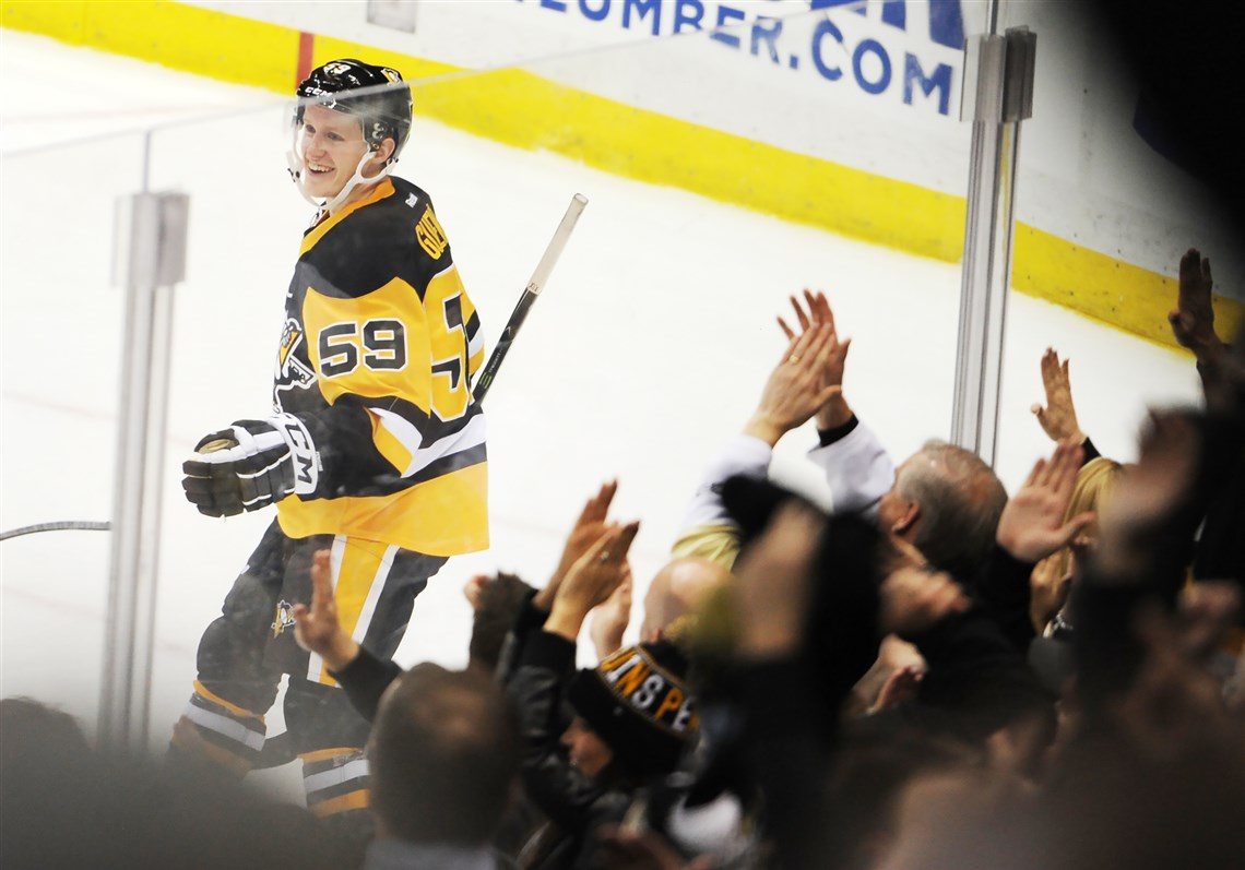 Looking Back On Jake Guentzel's Unforgettable Debut One Year Later