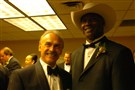 Rocky Bleier and Mel Blount at the eighth annual Mel Blount Youth Home All -Star Celebrity roast in 2006.