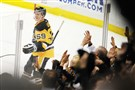 Jake Guentzel has 22 career NHL goals, but his first was certainly memorable.
