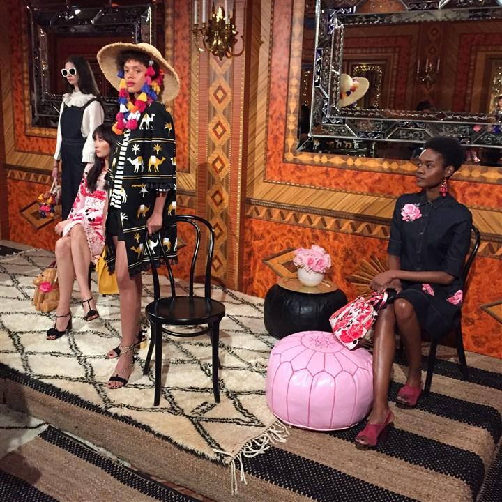 Russian Tea Room Fashion Week