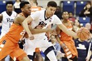 Pitt's Cam Johnson steals the ball from Syracuse's Tyrus Battle during this past Saturday's game in Oakland.