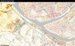 A screen grab from the Pittsburgh Historic Maps website