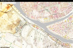 Screen grab from the Pittsburgh Historic Maps web site.