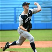 Penn State pitcher Taylor Lehman, a Keystone Oaks graduate, is hoping to be selected in the MLB draft in June.