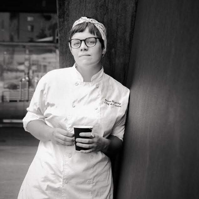 """Becca Hegarty Becca Hegarty of The Cafe Carnegie at the Carnegie Museum of Art in Oakland, is in the running for Rising Star Chef of the Year, a category that honors the chef age 30 or younger """"who displays an impressive talent and who is likely to make a significant impact on the industry in years to come."""""""