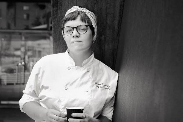 """Becca Hegarty Becca Hegarty, chef de cuisine at The Cafe Carnegie, is one of 60 finalists in Zagat's 2017 """"30 Under 30 National"""" program. She also was a 2017 semifinalist for a James Beard Award."""