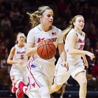 Claire Oberdorf, a Greensburg Salem graduate, has taken her two-sport talents to Marist, where she plays softball and basketball.
