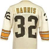 Franco Harris game-worn jersey from 1977-78.