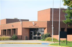 The Shuman Juvenile Detention Center building