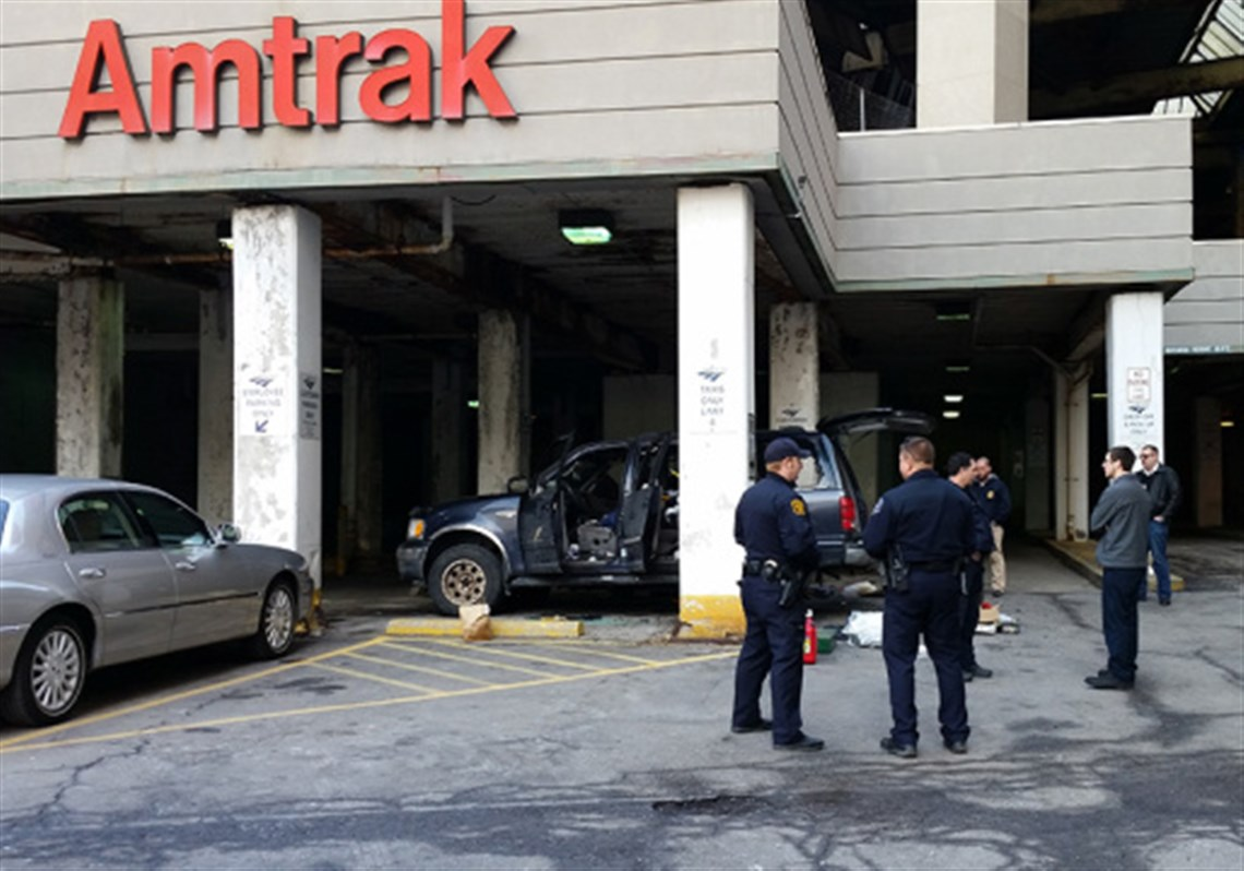 Bomb squad investigates suspicious vehicle outside amtrak station the bomb squad was called to the amtrak parking lot in downtown pittsburgh this afternoon to sciox Images