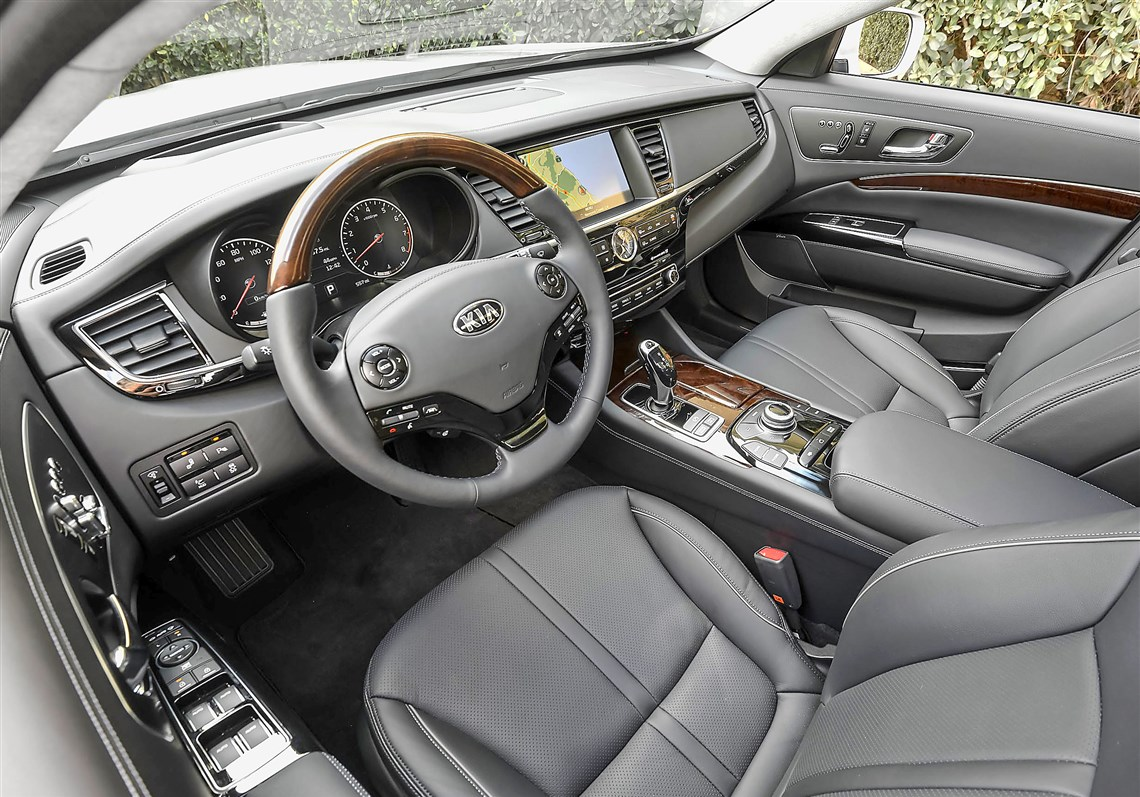 Interior The 2017 Kia K900 Comes With All Bells And Whistles In Seat Adjustment
