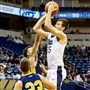 Pitt junior Zach Smith elevates for a shot earliers this season against Pitt-Johnstown.
