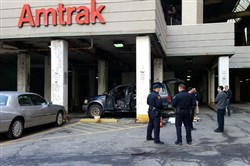 The bomb squad was called to the Amtrak parking lot in Downtown Pittsburgh this afternoon to investigate a suspicious vehicle. No threat was found.