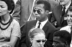 "Author James Baldwin, inspiration for the documentary ""I Am Not Your Negro"""