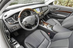 Interior: The 2017 Kia K900 comes with all the bells and whistles in seat adjustment and technological advances.   Kia K900 for the Feb. 23 installment of Driver's Seat.