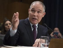 Environmental Protection Agency administrator nominee, Oklahoma Attorney General Scott Pruitt.