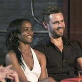 "Attorney Rachel Lindsay, with current ""Bachelor"" Nick Viall, will be ABC's next ""Bachelorette."""