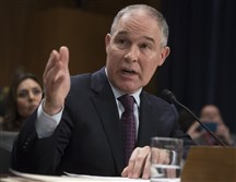 New EPA chief Scott Pruitt.
