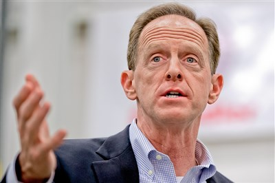 Hold the phone: Toomey, criticized for accessibility by some, holds virtual town hall