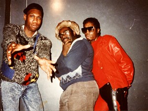 KRS-One, Paradise Gray and Grandmaster Flash