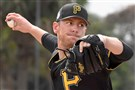 Pirates pitcher Chad Kuhl is trying to lock down the No. 4 spot in the rotation for this season.