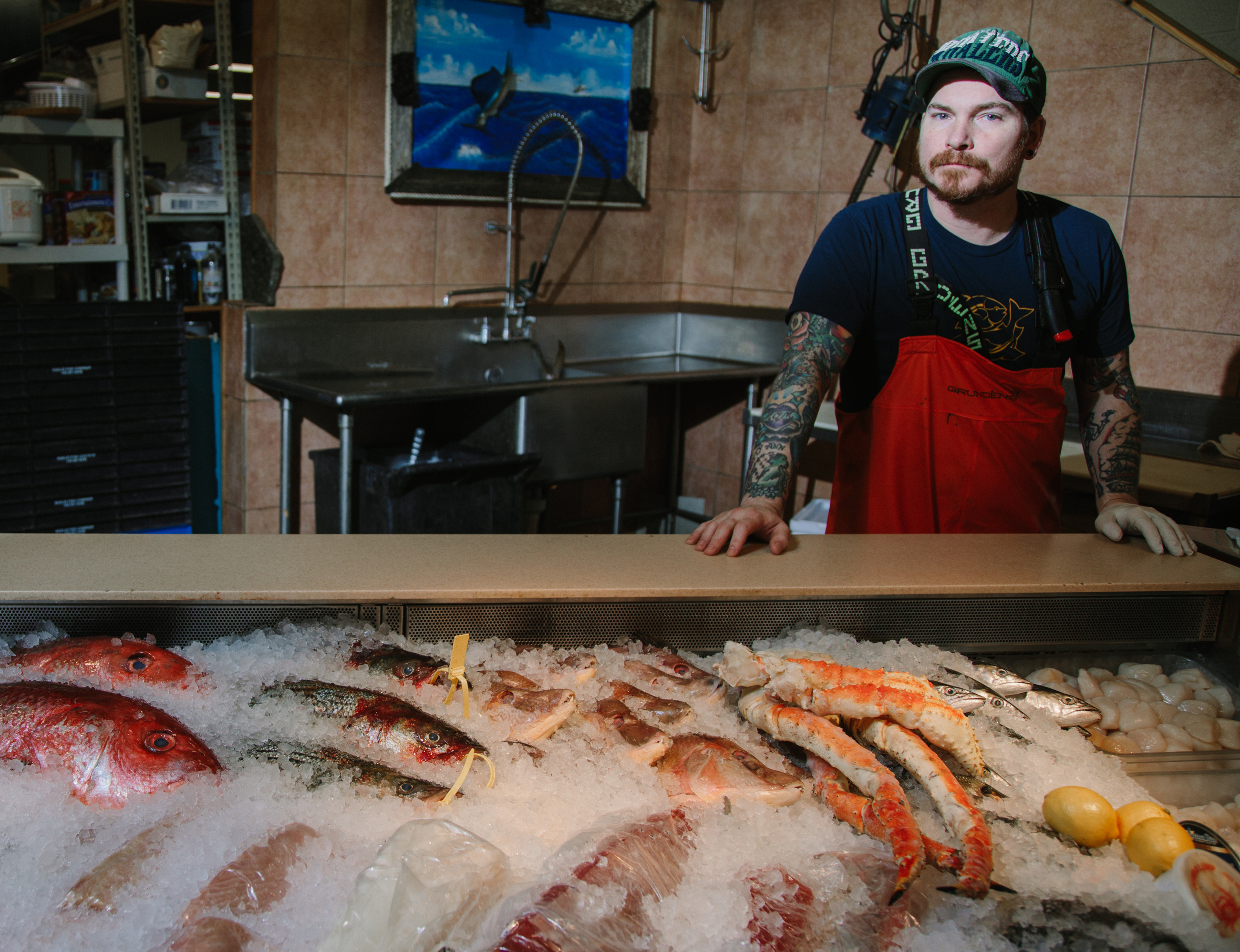Plunge into the art of seafood cooking for lent for Penn ave fish co