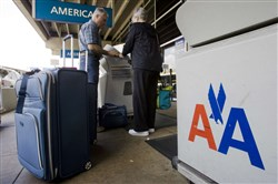 The Federal Aviation Administration has issued a ground stop for American Airlines flights departing to Philadelphia because of computer problems affecting that city's airport.