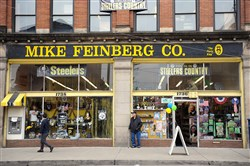 The Mike Feinberg Co. building in the Strip District.
