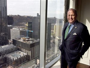 "Howard ""Hoddy"" Hanna III, the region's top-rated CEO."