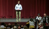 Republican Arkansas Sen. Tom Cotton fielded questions from concerned citizens during a town hall event on Wednesday.