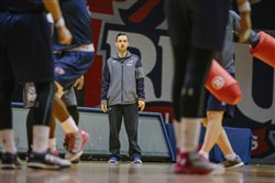 Robert Morris coach Charlie Buscaglia has continued his father's tradition of scouring the globe for recruits.