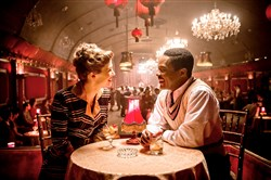 "Rosamund Pike as Ruth Williams and David Oyelowo as Seretse Khama in ""A United Kingdom."""