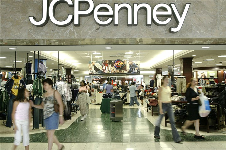JC Penney Results FILE - In this Aug. 16, 2005 file photo, customers walk out of a J.C. Penny department store in Dallas. J.C. Penney said Friday, Feb. 24, 2017, that it will be closing anywhere from 130 to 140 stores as well as two distribution centers over the next several months as it aims to improve profitability in the era of online shopping.(AP Photo/Matt Slocum)