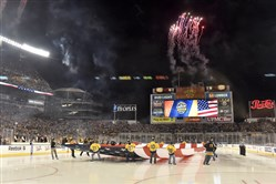 A sports commission could help Pittsburgh attract more big sports events, like the Penguins' Stadium Series game against the Philadelphia Flyers last month.