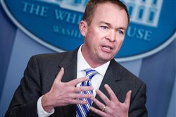 Mick Mulvaney, director of the Office of Management and Budget, claims the Obama administration manipulated the unemployment rate, yet another allegation made against the former administration without offering evidence to support the claim.
