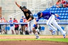 The Pirates won their spring-training game against the Toronto Blue Jays, 2-1, Monday in Dunedin, Fla.