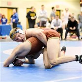 Frazier's Thayne Lawrence is one of two freshmen from the WPIAL who already has qualified for the PIAA tournament.