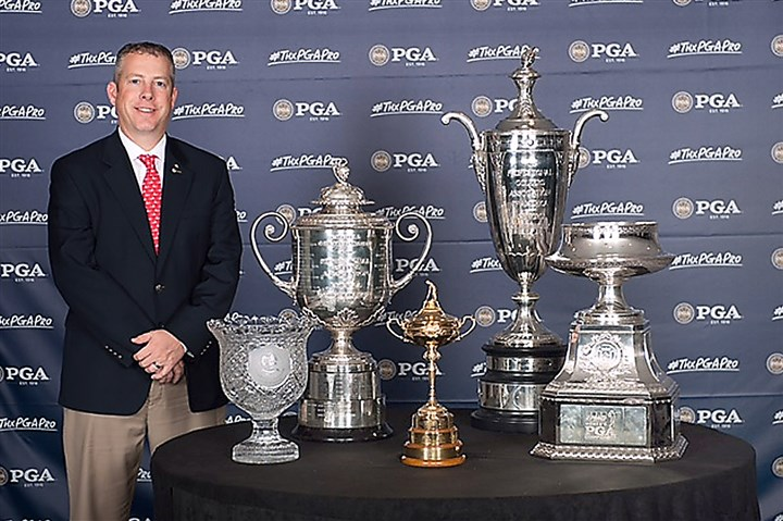 dave wright pga trophies Dave Wright, the new executive director of the Tri-State PGA, is taking over for long-time director Dennis Darak.