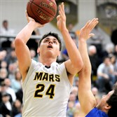 Robby Carmody hopes to help Mars take down Hampton in the PIAA playoffs.