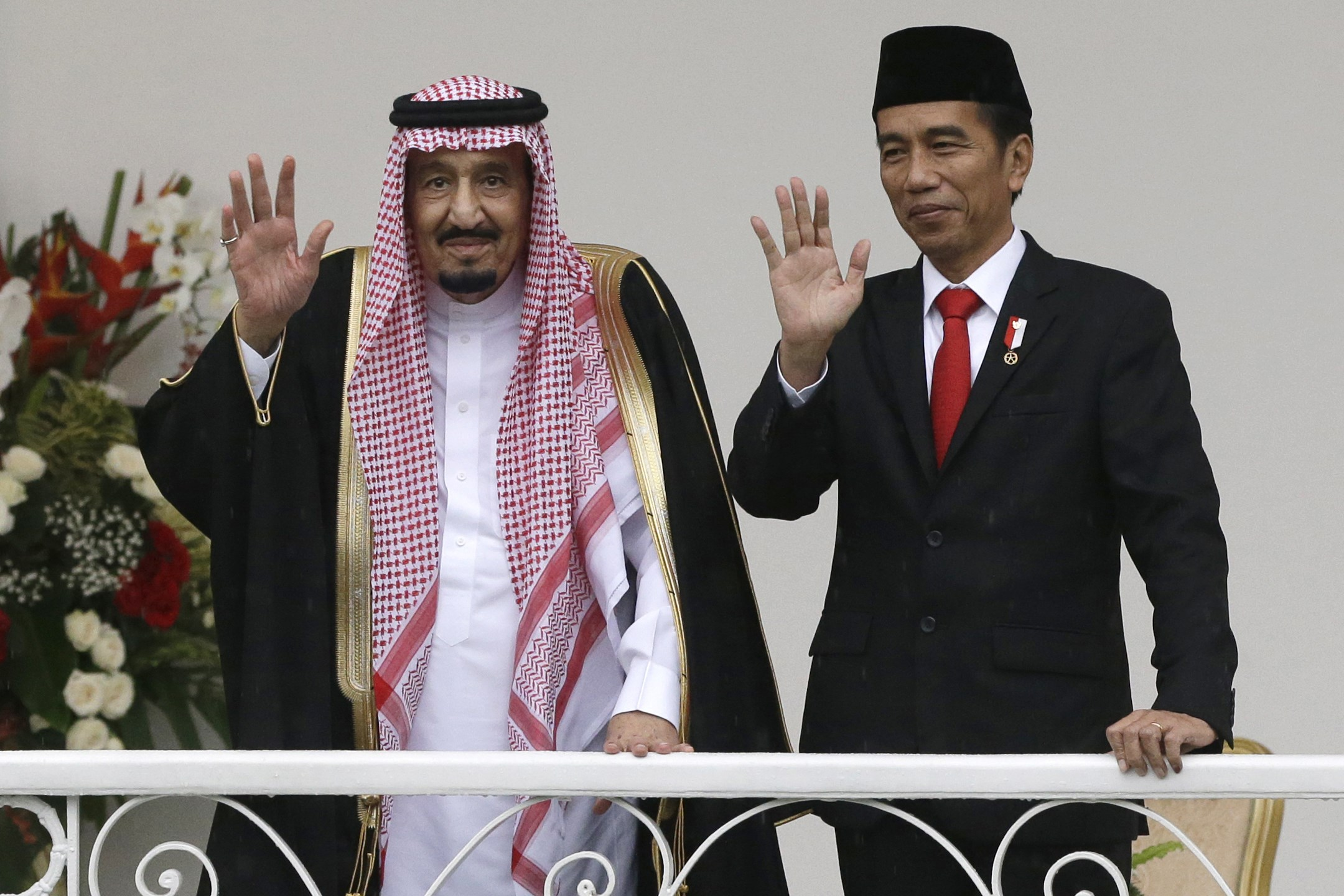 Image result for Saudi King Visits Indonesia With 'Cars & Entourage'