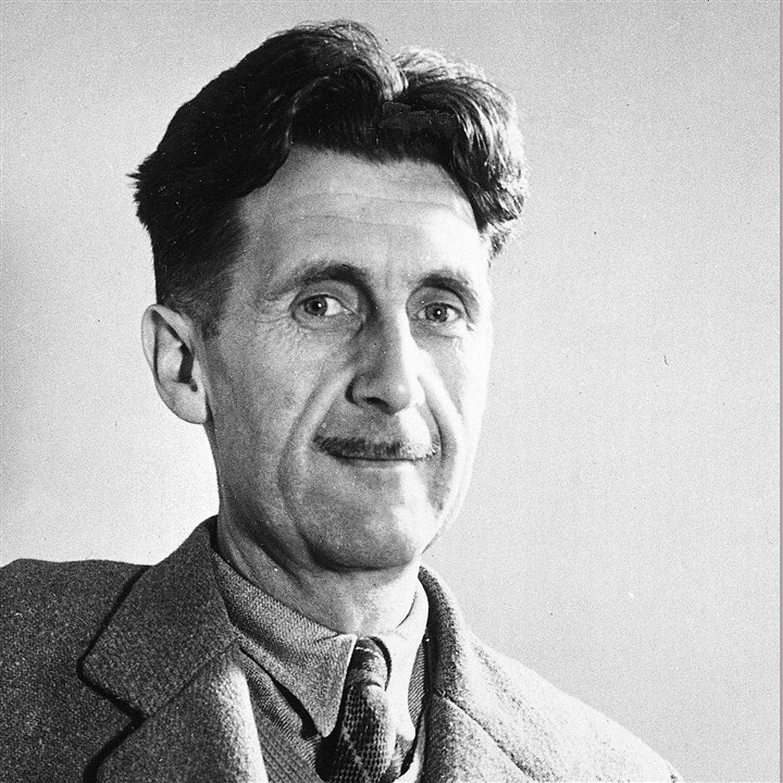 "Books-Trump-1984 An undated image of George Orwell, author of ""1984."""