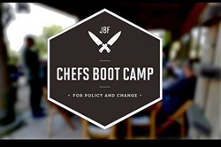 James Beard Foundation Cherfs Boot Camp for Policy and Change brings together chefs from across the country to study the important issues and challenges facing the food industry.