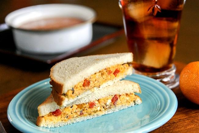 Pimiento Cheese sandwich.