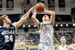 Pine-Richland's Phil Jurkovec may be called upon to guard Reading star Lonnie Walker in the PIAA Class 6A final.