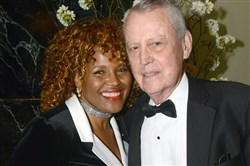 Joy and Thomas Starzl at the Ladies Hospital Aid Society Gala in 2013 in Pittsburgh.