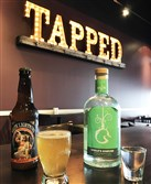 On March 10, Tapped Brick Oven & Pour House in Hempfield will be pouring craft boilermakers pairing Full Pint Brewing beers with Wigle spirits.