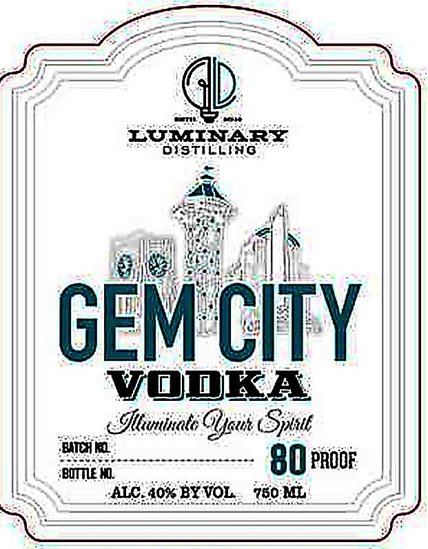 gem city vodka When it opens Saturday, Luminary Distilling in Erie will be the first legal one in Erie County in nearly a century. Their first products will include this vodka, named with Erie's Gem City nickname.