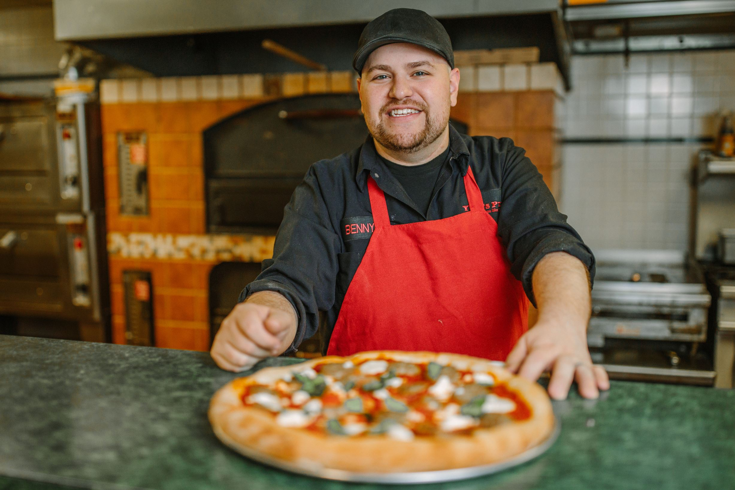 20170307arYoliPizza03-2 Ben Bartilson, owner of Yoli's Pizza in Jefferson Hills.